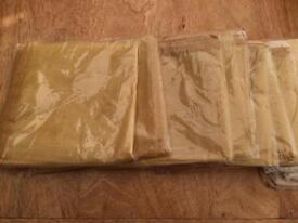 1 x BRAND NEW GOLD ORGANZA TABLE RUNNER - UP TO 15 AVAILABLE