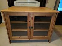 Ikea solid TV cabinet