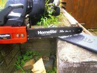homelite chain saw,