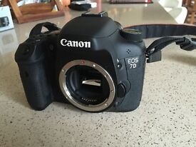 Canon 7D Body Only in excellent condition