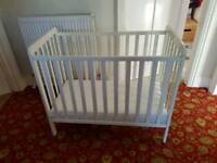 White Wooden Cot ONO