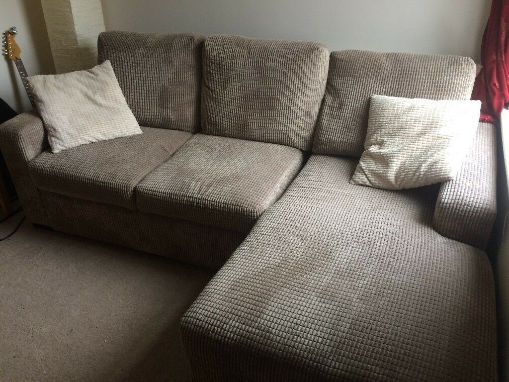 Scs Dreamer Rhf Storage Chaise Sofa Bed In West Bridgford