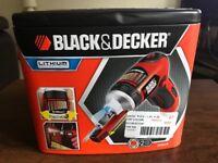 Power Screwdriver Black & Decker Autoselect Lithium