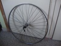 Vintage 27 x 1.25 inch bike bicycle front wheel