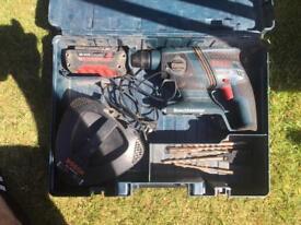 Bosch 36v cordless SDS drill