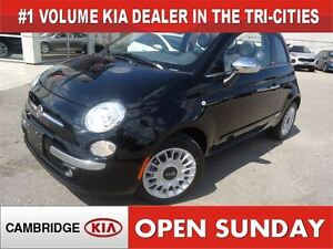 2015 Fiat 500 C LOUNGE / LEATHER / NOT A RENTAL