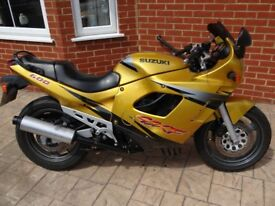 Suzuki GSX600F. 1997 23k miles, New MOT, hasn't seen wet weather in 15 years
