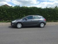 2010/60 reg Vauxhall Astra 1.7 CDTi ecoFLEX 16v Exclusiv 5 door MOT/TAX