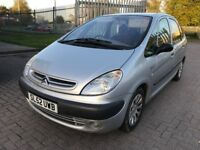Citroen Xsara Picasso 1.6 i SX MPV 5dr Petrol Manual , Sold cheap needs going for spares or repairs