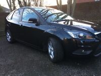 Black Ford Focus 2008 2.0 TDi Great Condition £3,350