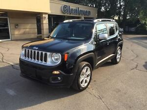 2016 Jeep Renegade BRAND NEW, LIMITED, 15% OFF MSRP