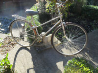 Vintage Raleigh Silhouette Mixte Bicycle – Restoration Project
