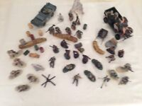 Forces of Valor figures, scenary and vehicles - no boxes
