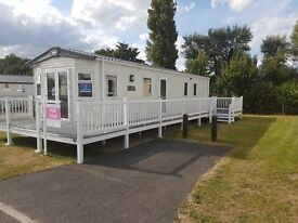 Static Caravan Holiday Home with Decking Great Yarmouth Gorleston Norfolk Broads Not Suffolk/Haven