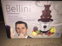New Chocolate fountain