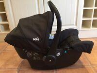 Car Seat - Joie - Black - Excellent Condition