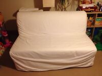 Two Seat Sofa Bed (originally £175 from IKEA)