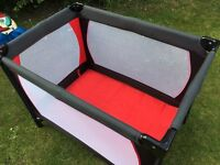My Child travel cot, excellent condition