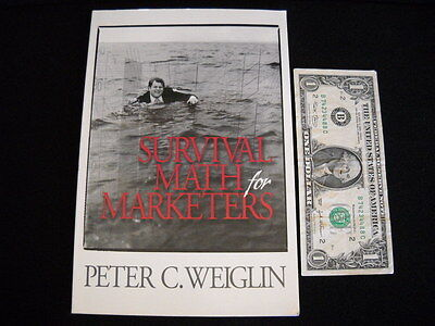 SURVIVAL MATH FOR MARKETERS by PETER