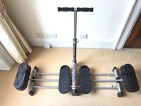 Legs Master Elite thigh leg gym machine RRP£100 selling for £35 Hampstead NW3 collection.
