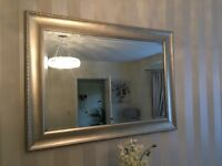 Large champagne mirror