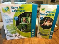 TP baby swing seat and older child seat