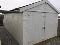 Timber sectional garage for sale
