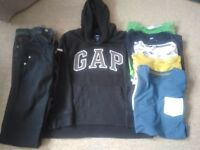Bundle of age 9-10 boys clothes - good condition