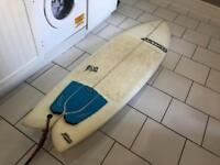 "Adams Dropped Swonka 6""6 surfboard - used once!"