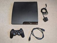 Playstation 3 Slim 160GB with Controller and cables