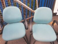 4 MEETING/OFFICE/CONFERENCE/BOARDROOM CHAIRS £30 each NO OFFER