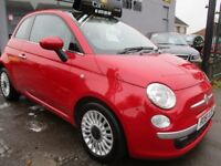 FIAT 500 0.9 TwinAir Lounge 3dr (start/stop) (red) 2011