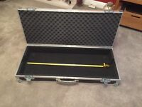 Synth/ Keyboard Flight Case suitable for Access Virus or equivalent