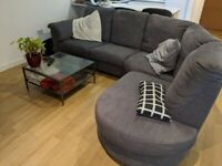 Tidafors Ikea large, comfortable corner sofa