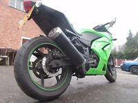 2010 KAWASAKI NINJA 250 EX KAF Service History Delivery Available Low Mileage