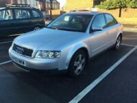 2002 AUDI A4 2.0 AUTO. EASY REPAIR NEEDED