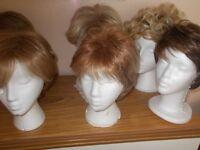 Ladies assorted wigs