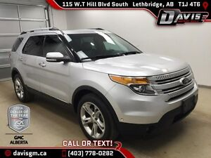 Used 2013 Ford Explorer 4WD Limited-7 Passenger,Dual Sunroof