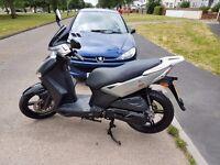 Kymco AGILITY CITY 125cc Learner Legal Scooter Motorcycle Moped 1 Year's MOT like 125 Yamaha Honda