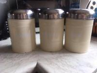 Coffee/Tea/Sugar Pots