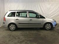 2005 Vauxhall Zafira 1.6i 16v Life 5dr **Long MOT**