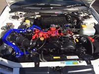 Subaru Impreza Version 6 Sti Import Rear wheel Drive Drift