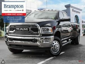 2017 Ram 3500 LARAMIE LONGHORN 4X4 | 1 OWNER | 8.4 IN TOUCHSCREE
