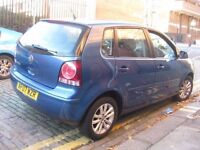 VW POLO 1.2 NEW SHAPE 2007 CHEAP TO RUN AND INSURE *** £1650 ONLY *** 5 DOOR HATCHBACK