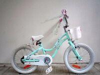"(2124) 16"" 8.5"" TREK MYSTIC Girls Childs Kids Bike Bicycle; Age: 4-6; Height: 102-117 cm"