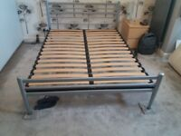 designer king size bed with mattress delivery available