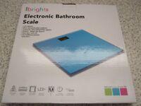 Ultra Slim Glass Electronic Bathroom Scales