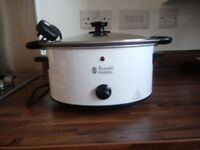 Russell Hobbs 4.5L White Slow Cooker 23160