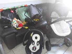 Chicco Urban 3 in 1 Travel System PLUS LOADS of Extras