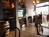 Part time wine shop and deli bar waiter waitress